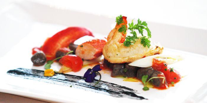 Seafood Dish from Daccapo Italian Restaurant in Wangfujing, Beijin