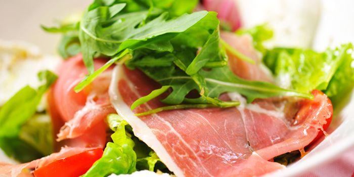 Salad from Bella Napoli (Changle Lu) in Jingan, Shanghai