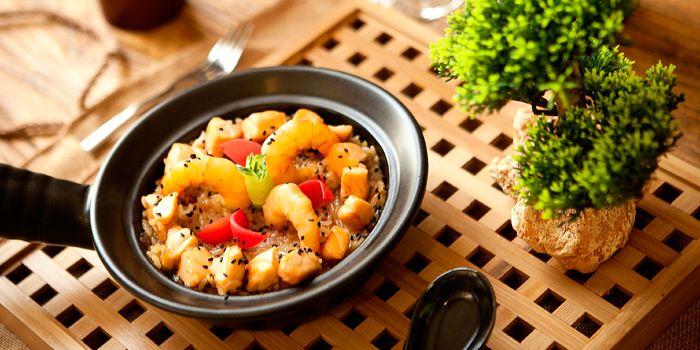 Seafood Rice from Art-restaurant Dacha at Ritan Hotel in Ritan, Beijing