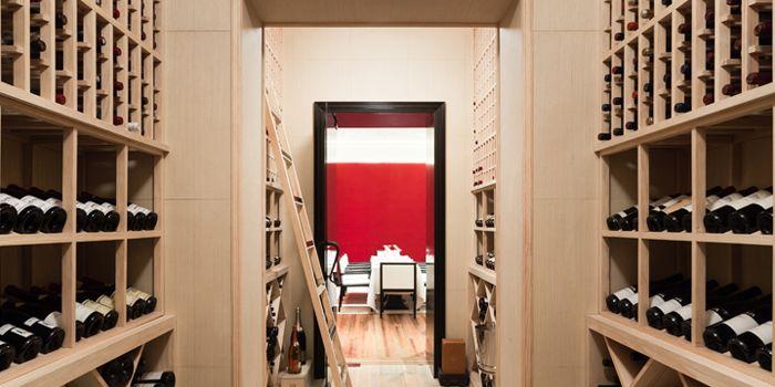 Wine Cellar of NAPA Wine Bar and Kitchen in The Bund, Shanghai
