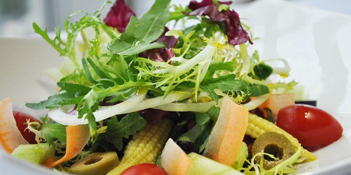 Salad from Albero Spanish Restaurant in Grand Kempinski Hotel Shanghai, Pudong, Shanghai