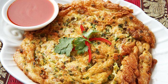 Omelette from Urban Thai (Dagu Lu) in Jingan, Shanghai