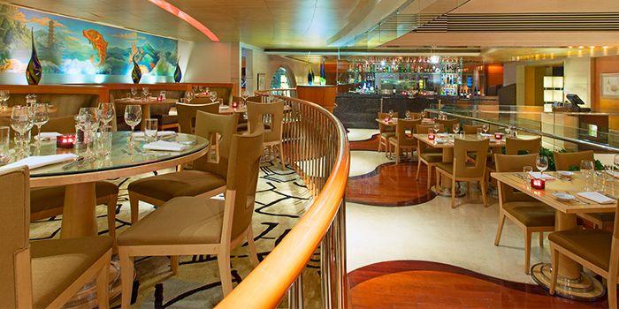 Interior of Prego in The Westin Bund Center Shanghai, The Bund, Shanghai