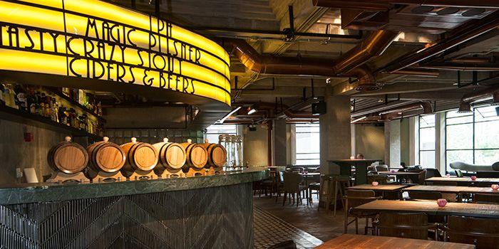 Second Floor Seating of Shanghai Brewery DONGHU in Xuhui, Shanghai