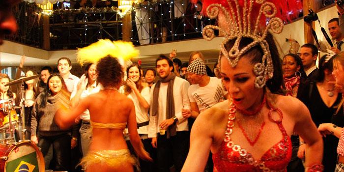 Samba Dancing at Latina (Chamtime Plaza) in Pudong, Shanghai