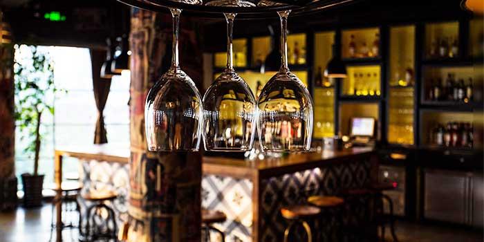 Interior of Kartel Wine Bar in Jing