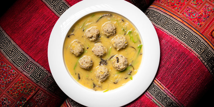 Lentil Soup with Tofu Balls from Lost Heaven (Silk Road) located at Jing