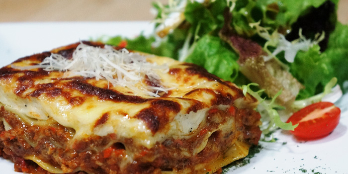 Lasagna from JustGrapes in Anfu Lu, Shanghai
