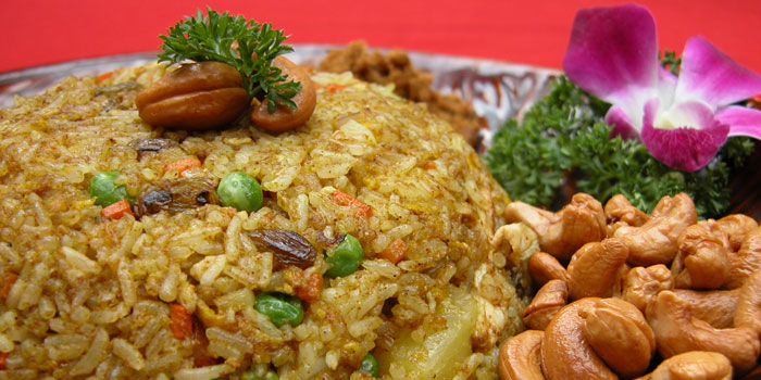Pineapple fried rice of Coconut Paradise located on Fumin Lu