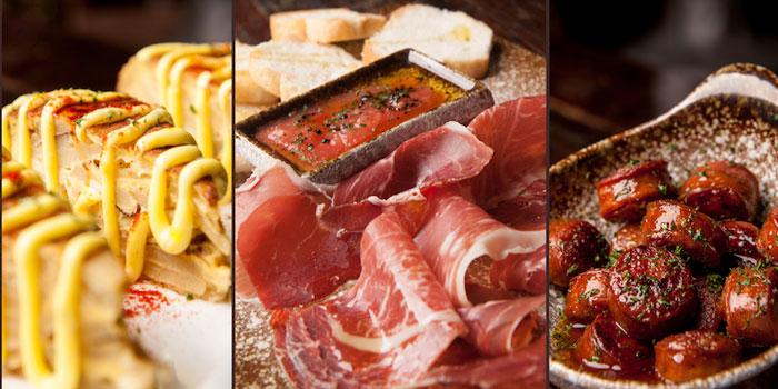 Food of Brownstone Tapas & lounge located on Yongjia Lu