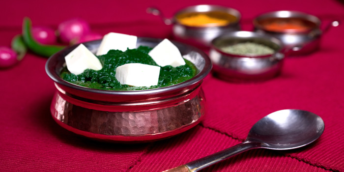Vedas Palak paneer located on Changshu Lu
