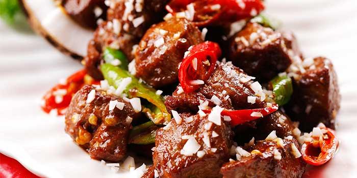 Food of Gui Hua Lou located in Pudong Shangri-La, Shanghai