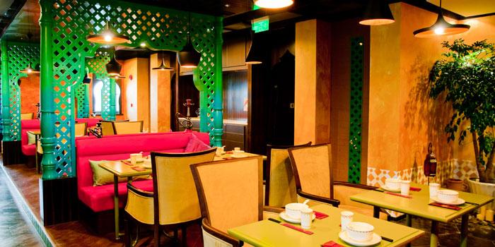 Indoor of Yershari located on Zhaojiabang Lu