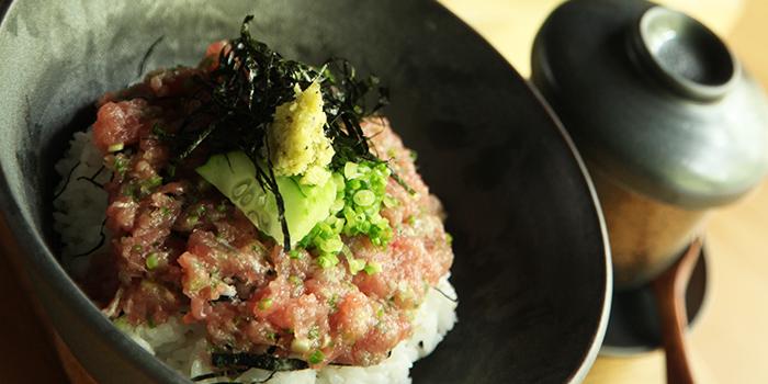 Tuna Bowl from Sushi Raku located in Jing