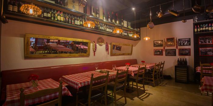 Indoor of Favorita located on Mengzi Lu, Huangpu District, Shanghai, China