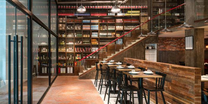 Indoor of Bar Centrale located on Nanjing Xi Lu, Jing