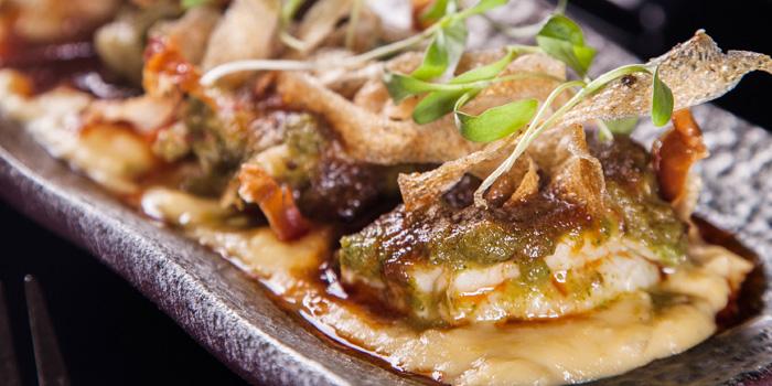 Food of Shake Restaurant & Bar located on Maoming Nan Lu, Luwan District, Shanghai, China