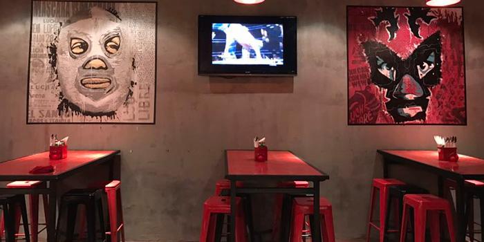 Indoor of El Santo by El Luchador located on Julu Lu, Luwan, Shanghai