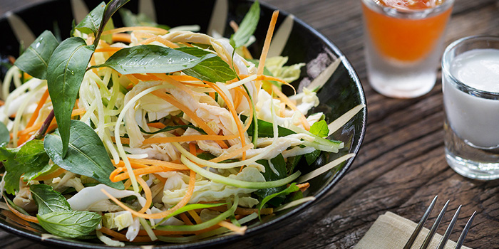 Coleslaw Chicken Salad from Ginger Modern Asian Bistro located in Xuhui, Shanghai