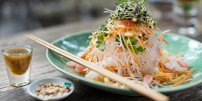 Yue Sang Salad from Ginger Modern Asian Bistro located in Xuhui, Shanghai