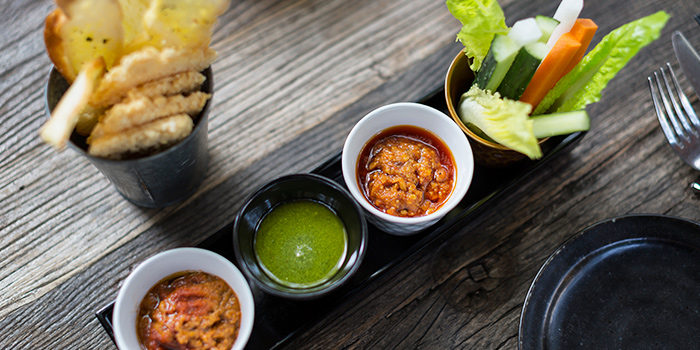 Asian Dips from Ginger Modern Asian Bistro located in Xuhui, Shanghai