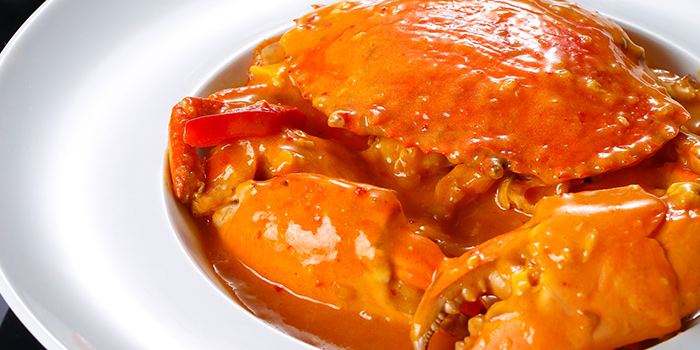 Crab from Summer Palace located in Jing