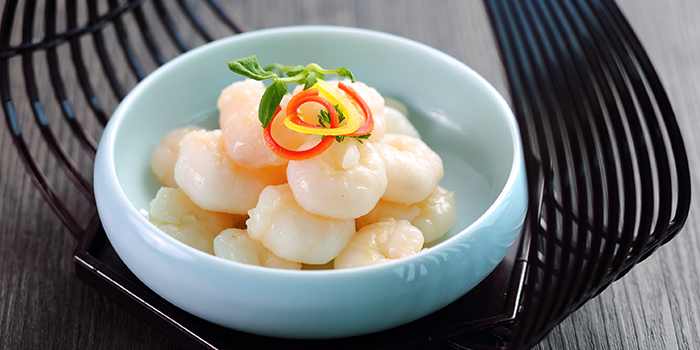 Marinated Sliced Shrimps from Summer Palace located in Jing