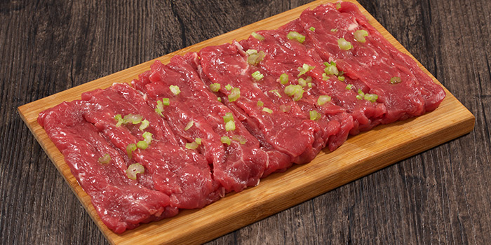 Meat from Holy Cow (Tianshan Lu) located in Changning, Shanghai