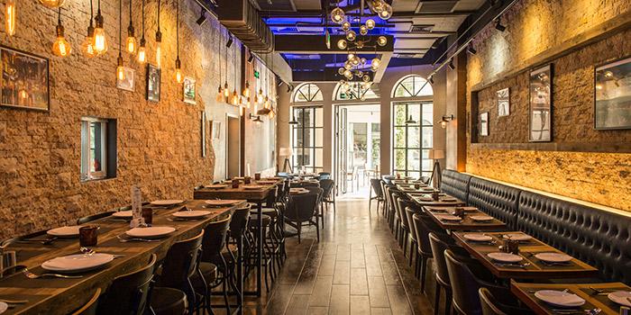 Indoor of Pera Turkish Restaurant & Bar located on Julu Lu, Huangpu District, Shanghai, China