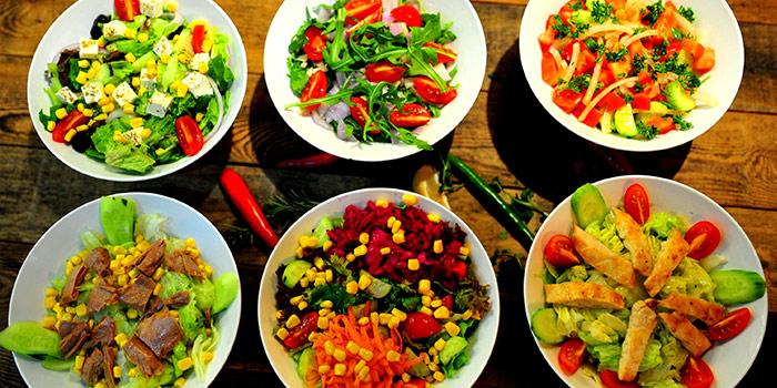 Food of Pera Turkish Restaurant & Bar located on Julu Lu, Huangpu District, Shanghai, China