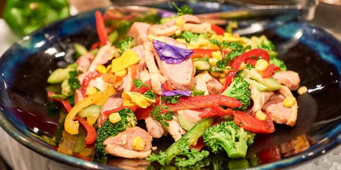 Salad from Prego in The Westin Bund Center Shanghai, The Bund, Shanghai