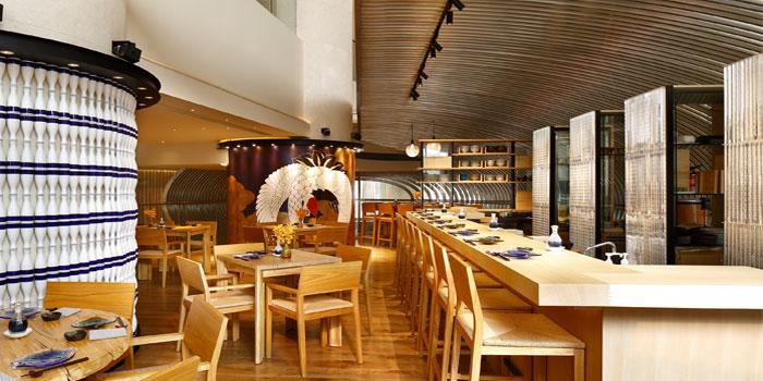 Indoor of 88 sushi located on Songshan Lu, Huangpu, Shanghai