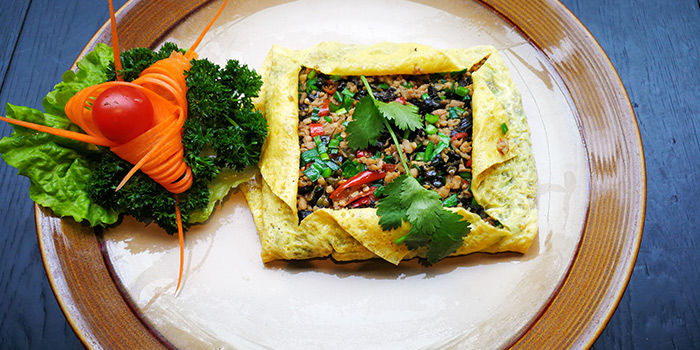 Eggs and Mushroom from Gathering Clouds located in Changning, Shanghai