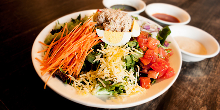 Chef Salad from Tocks A Montreal Deli located in Huangpu, Shanghai