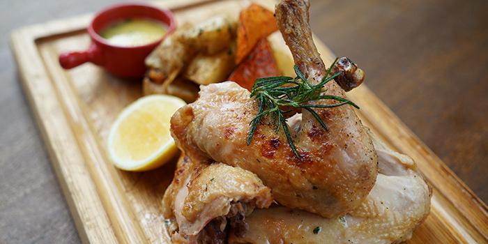 Roast Chicken from XUAN Bar in Andaz Xintiandi, Shanghai