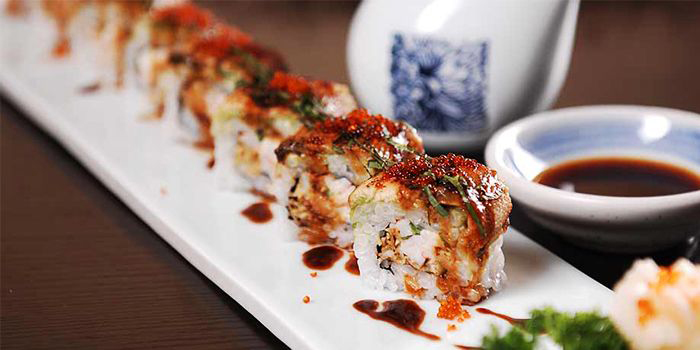 Sushi Roll of Hatsune located in Disney Town