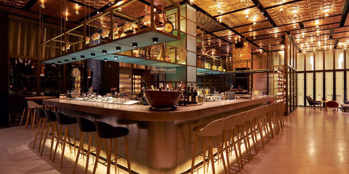 Indoor of The Cannery located on Yuyuan Lu,  Changning, Shanghai