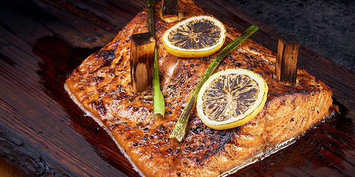 Salmon from The Cannery located on Yuyuan Lu, Changning, Shanghai