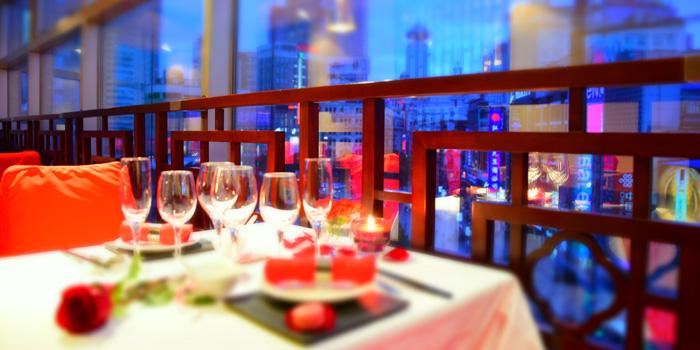 Indoor of Mao (Sofitel Hyland) located on Nanjing Dong Lu, Huangpu, China