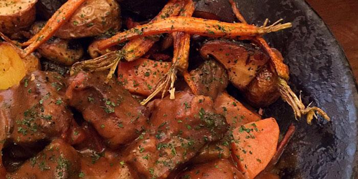 Food of Anteroom located on Changle Lu, Jing