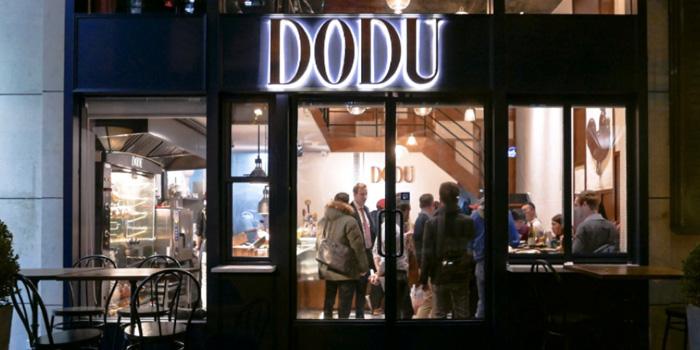 Outdoor of DODU Rôtisserie Française located on Changshu Lu, Jing