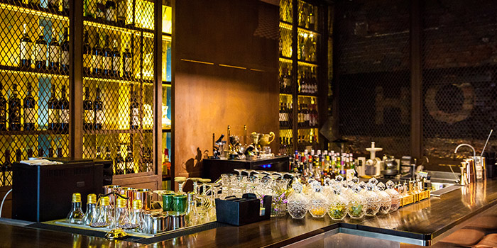 Bar of Host Wine & Kitchen located in Jing