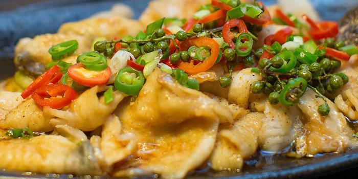 Fish from Secret Haven (Xintiandi) located in Huangpu, Shanghai