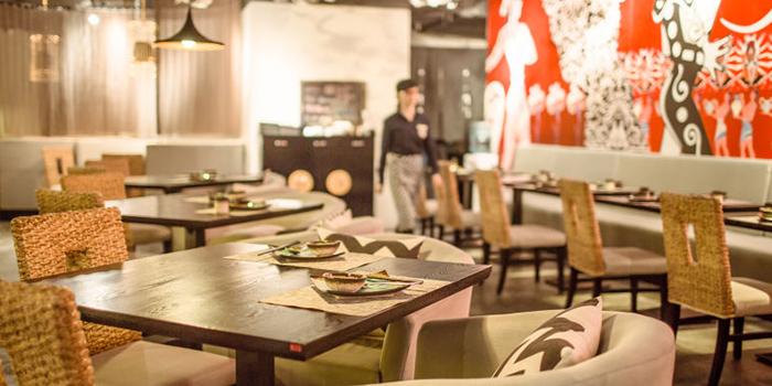Interior of Secret Haven (Xintiandi) located in Huangpu, Shanghai
