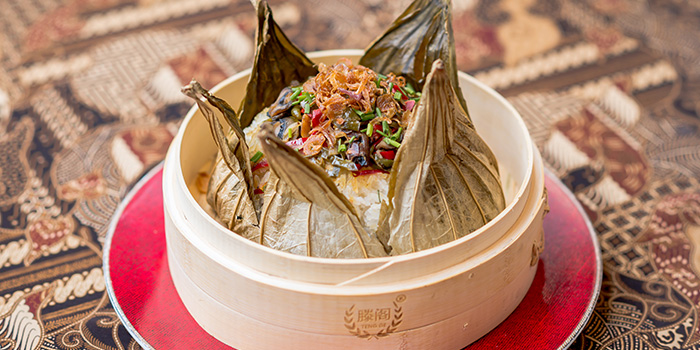 Lotus Leaf Rice from Bali Bistro & Balini Coffee located in Jing