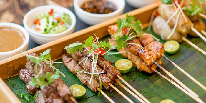 Satay Set from Bali Bistro & Balini Coffee located in Jing