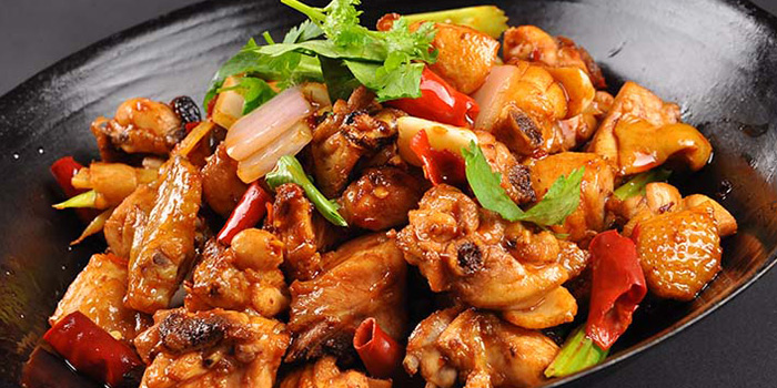 Claypot Chicken from Hunan Country Cuisine located in Xuhui, Shanghai
