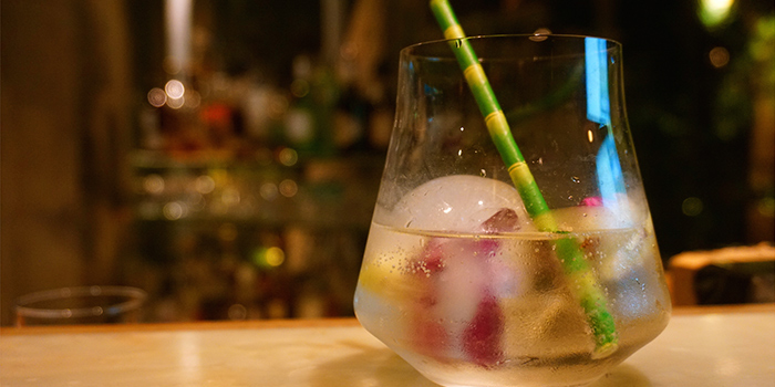 Cocktail from Keep It Quiet bar (Yongfoo Elite) located in Xuhui, Shanghai