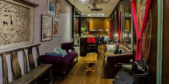 Indoor of Keep It Quiet bar (Yongfoo Elite) located in Xuhui, Shanghai