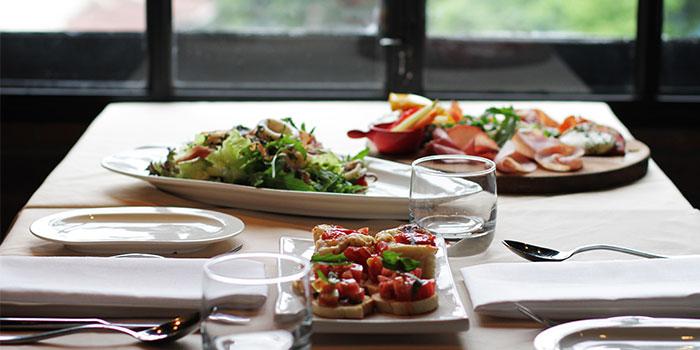 Dishes of Porto Matto located in JingAn, Shanghai